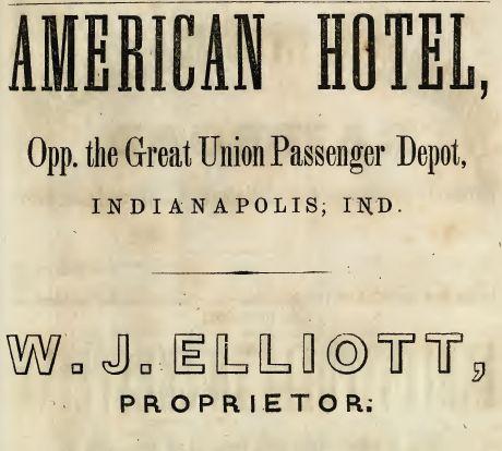 American Hotel, 1855