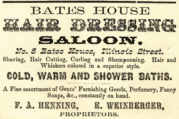 Bates House 1857