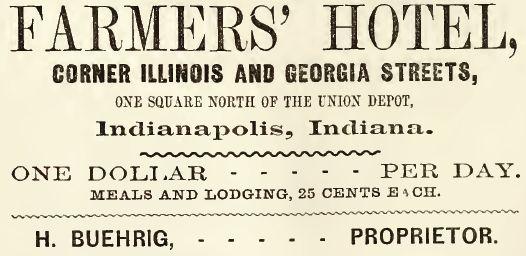 Farmers Hotel-1860-61