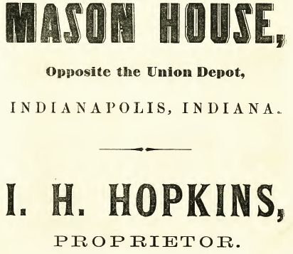 Mason House 1865