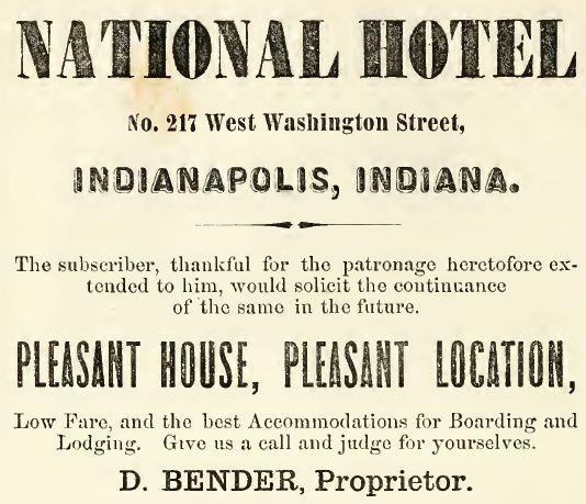 National Hotel-1860-61