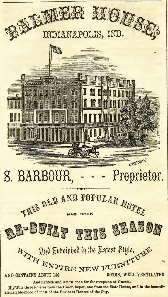Palmer House, 1857