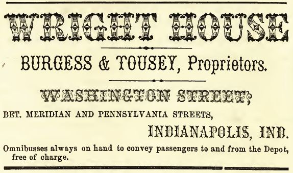 Wright House, 1857