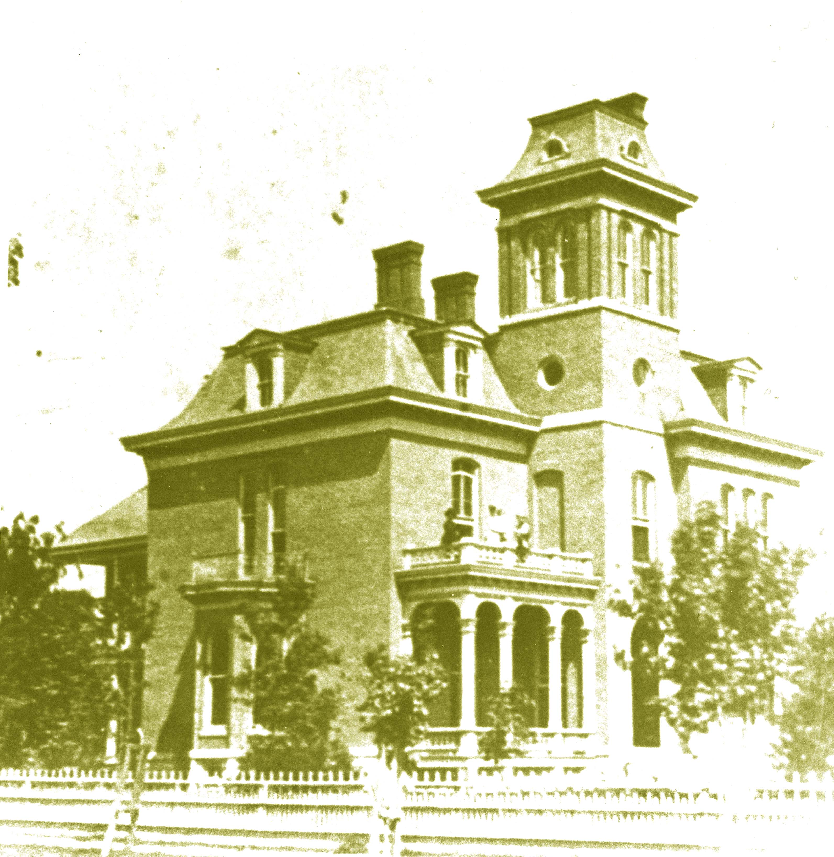 Earliest Photo of the house