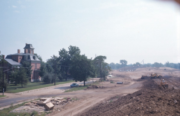 Construction of I-65, 1970