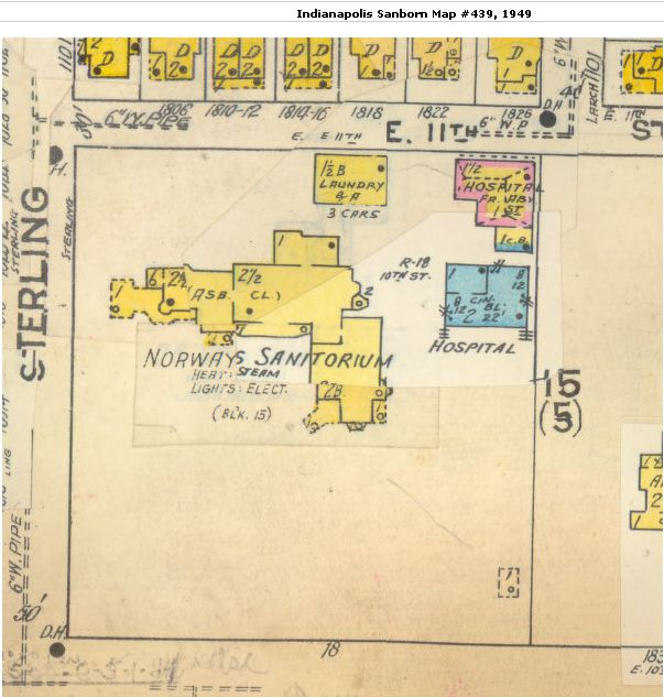 1949 Sanborn Fire Insurance Rate Map