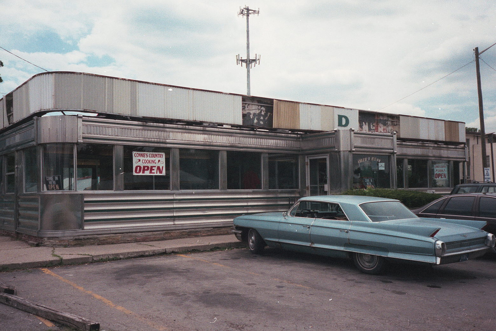 The diner, circa 2000