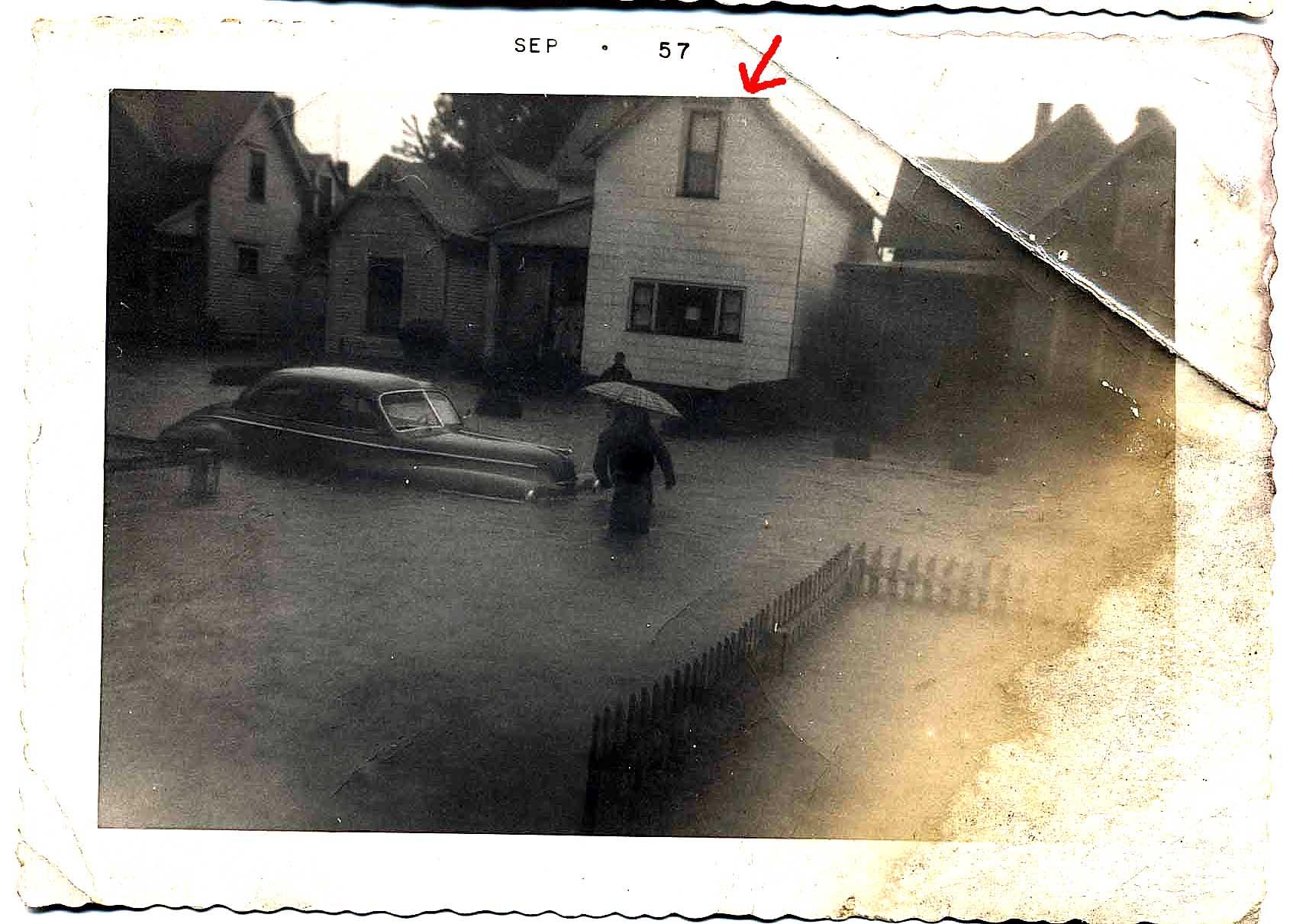 Ninth_1200_block_1957_Flood