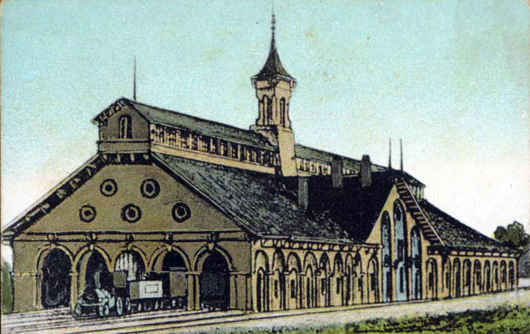 Indianapolis Union Depot, from late 1800s advertising card